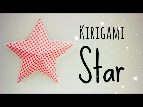 Papercraft Kirigami simple star