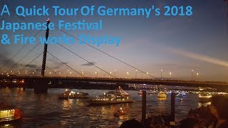 Skillz Explores Germany - Japanese Festival Quick Tour + Fire Works Display thumbnail