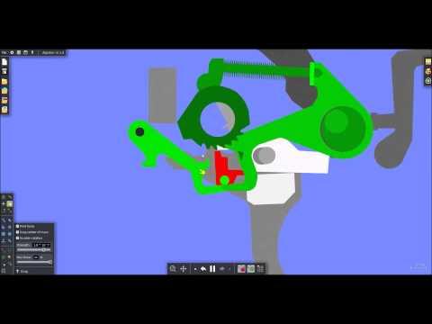 How the H&K G3/MP5 burst mechanism works