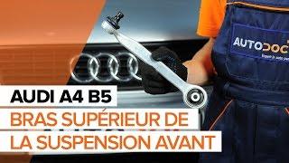 Comment remplacer le bras supérieur de la suspension avant sur une AUDI A4 B5 [TUTORIEL]