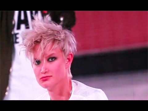 Tigi Hairshow Las Vegas 2015 A Very Short Haircut Youtube