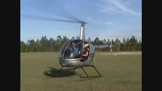 Robinson R22 Helicopter 12 Maneuvers Done Smoothly