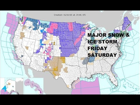 MAJOR SNOW ICE STORM OHIO VALLEY & NORTHEAST, SNOW PLAINS & NORTHWEST AS WINTER RAGES ON