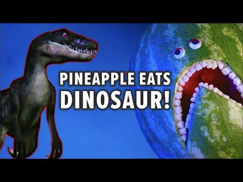 Fruit Surgery in Prison! Pineapple eats Dinosaur! Discount Dentist Ep 151 TikTok #Shorts