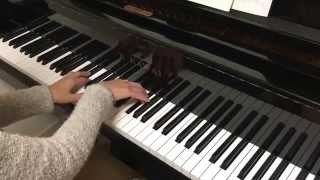 You are too beautiful. Jazz piano solo