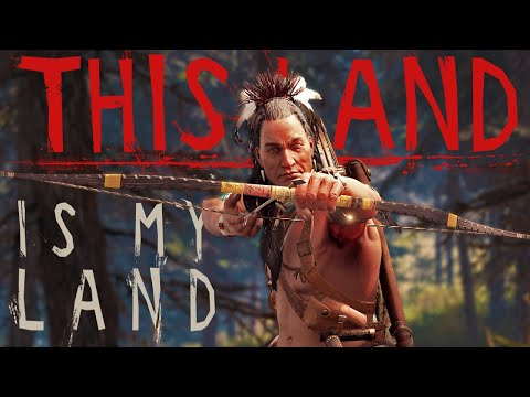 Being A Native American During The Invasion Of Settlers - This Land Is My Land (Open World Survival)