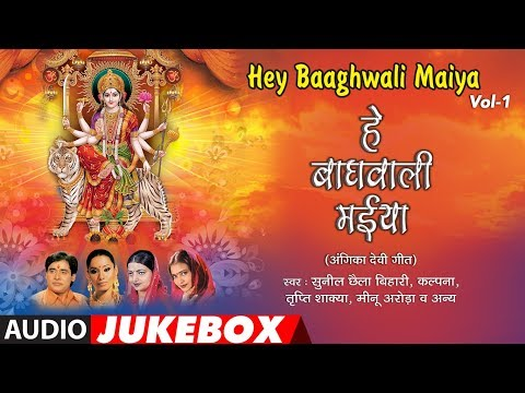 HEY BAAGHWALI MAYIYA Vol 1 | ANGIKA DEVI GEET AUDIO SONGS JUKEBOX | SUNIL CHHAILA BIHARI,KALPANA