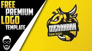 Youtube bedava logo psd | Free premium bee logo | [ free premium logo ] #12