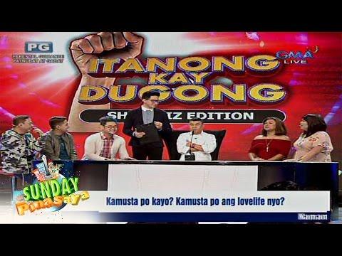 Sunday PinaSaya: Itanong mo kay Dugong: Showbiz edition