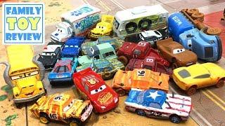new disney cars 3 toys cigalert broadside pushover thunder hollow diecast live toy unboxing video. Black Bedroom Furniture Sets. Home Design Ideas