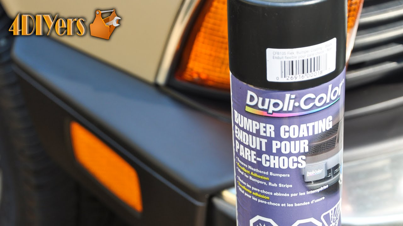 Review: Dupli Color Bumper Coating - YouTube