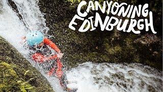 Canyoning Adventure from Edinburgh | Scotland | Intrepidus Outdoors