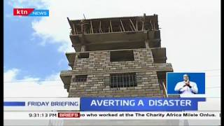 six storey structure in Kayole partly demolished and owner arrested