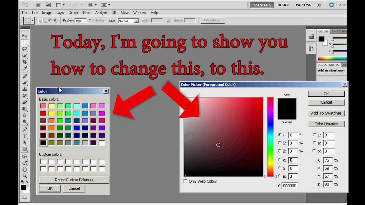 HUD Color Picker in Photoshop CC | Ampower
