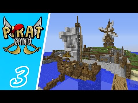 Dansk Minecraft - Piratland #03: VORES EGEN BUTIK!!
