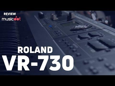 REVIEW ROLAND VR-730  Um VR-09B ainda mais poderoso