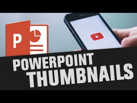 YouTube Thumbnail erstellen kostenlos mit PowerPoint (Tutorial)