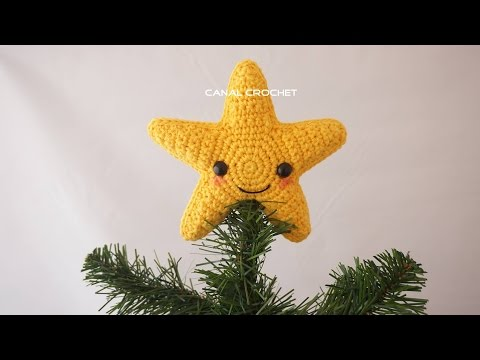 Tutorial Estrella Amigurumi Star : Estrella Amigurumi Kawaii FunnyDog.TV