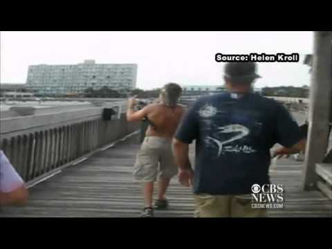 Teen Battles Bullshark On Fishing Line