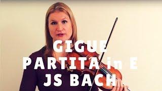 Video Gigue from Bach's Partita in E Major - Video Exchange | Violin Lounge TV #259 download MP3, 3GP, MP4, WEBM, AVI, FLV Januari 2018