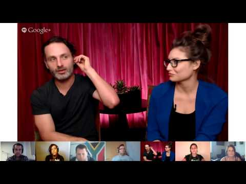 Hangout With FOX: The Walking Dead's Andrew Lincoln