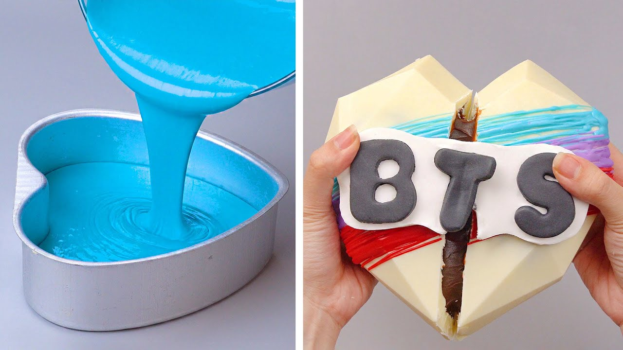 Top Amazing Cake Decorating Ideas For Fans of BTS | Perfect Cake Decorating Tutorials You'll Love