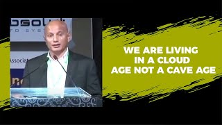 We are living in a cloud age not a cave