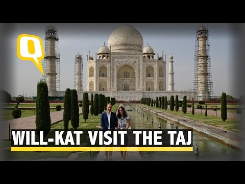 The Quint: Will-Kat Visit the Taj Mahal