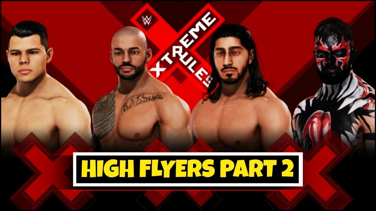 WWE 2K20 'HIGH FLYERS' PART 2 Special Gameplay ! FAIL GAME LIVE 2K20 Theme Gameplay | Смот