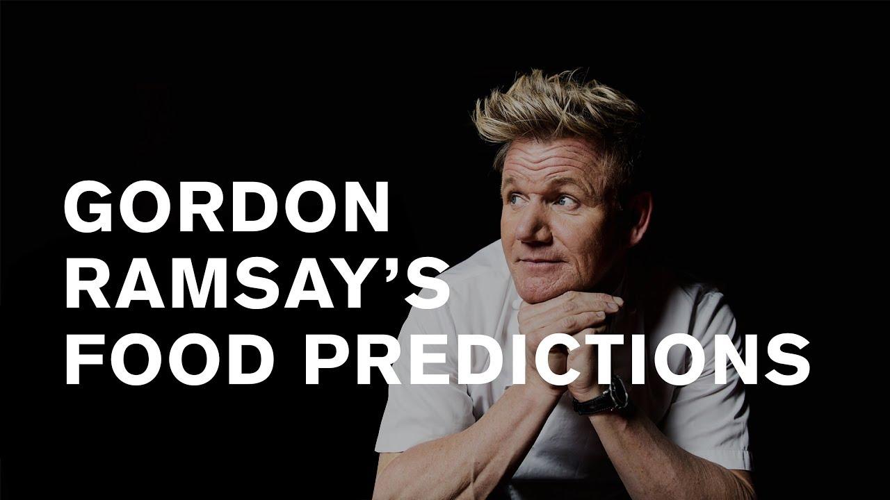 Gordon Ramsay: 3 Michelin stars botox fish [the future of ...  Gordon Ramsay Botox