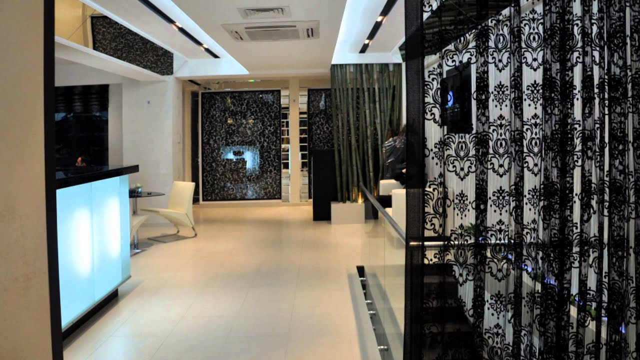 Beauty salon interior design by art corner youtube for Photos salon design