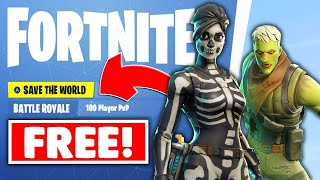 HOW TO GET SAVE THE WORLD FOR FREE ON FORTNITE!*SEASON 8* (TUTORIAL) | XBOX,PS4 & PC-FORTNITE