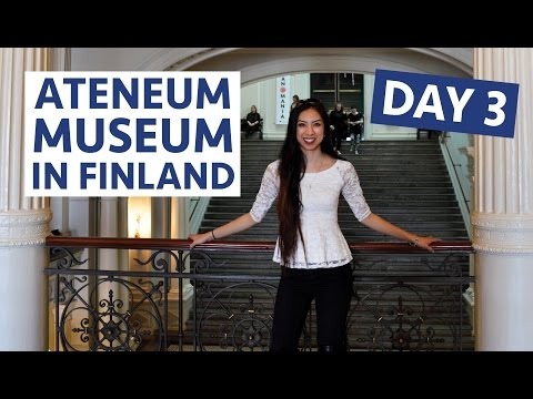 VLOG #135: Day 3 in Helsinki, Finland at the Ateneum Museum - April 19, 2016 | Erica Joaquin