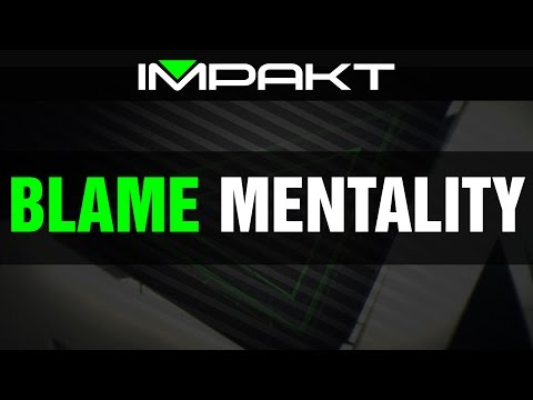 Blame Mentality (And How It Influences Win Rate in League of Legends Solo Queue) by impaKt