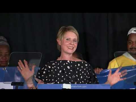Cynthia Nixon concedes New York primary