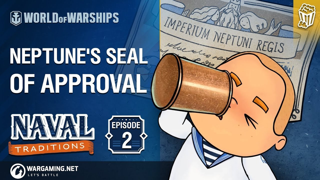 World of Warships – Naval Traditions: Neptune's Seal of Approval