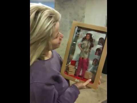Alexa gets her louboutin Barbie