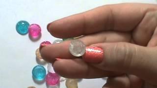 Melting beads to make Enamel dots