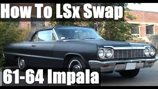 How to LS Swap a 1961-64 Chevy Impala with a Muncie 4-Speed