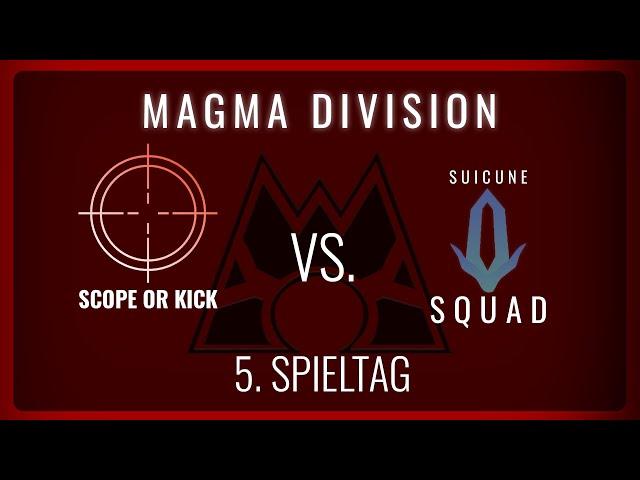 Scope or Kick vs Suicune Squad, 5. Spieltag Magma Division   NERDKRAM POKEMON LEAGUE