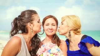 свадьба на пляже в Мексике Лилии и Тимура