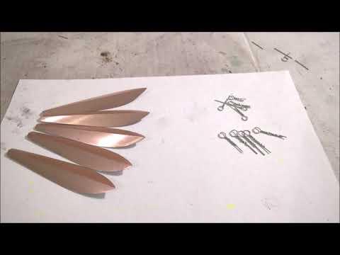 Изготовление блесны Маропедка 50мм 120 градусов