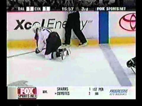 Jan 20, 2003 Hit Hatcher Forsberg