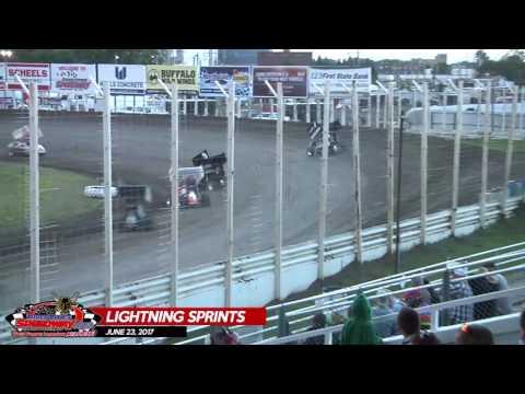 Lightning Sprints - River Cities Speedway - June 23, 2017