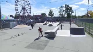 Guelph Skateboarding Norfolk County Fair  Dave's World Norfolk Skate Shop Contest Oct 8th 2016