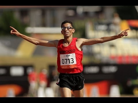 Athletics - men's 10000m T12 final - 2013 IPC Athletics World Championships, Lyon