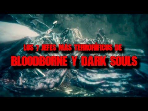 Los 7 jefes más aterradores de Bloodborne y la saga Dark Souls