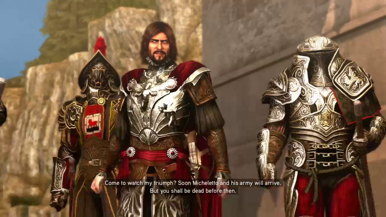 Assassin S Creed Brotherhood The Death Of Cesare Borgia Youtube