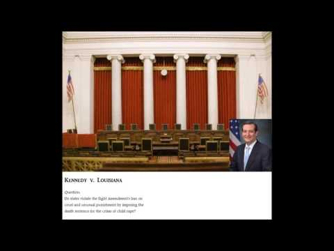 Ted Cruz's Supreme Court argument (Kennedy v. Louisiana)