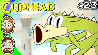 CUPHEAD EXPERT MODE - PART 23: A Real Nuisance | CHAD & RUSS